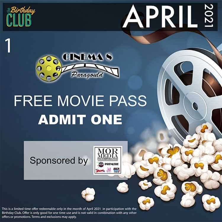 Birthday Club - Movie Pass 1